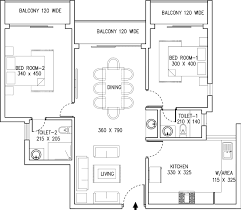 450 Square Foot Apartment Floor Plan by 1310 Sq Ft 2 Bhk 2t Apartment For Sale In Kent Constructions