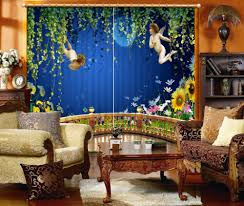 Living Room Curtains Cheap Online Get Cheap Girls Room Curtains Aliexpress Com Alibaba Group