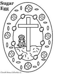 resurrection eggs coloring page all saints easter sunday