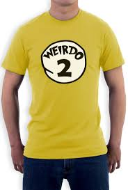 Halloween Costumes T Shirts by Weirdo 2 Costume T Shirt Halloween Party Weirdo 1 2 Thing Matching