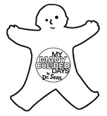 my many colored days kid color cutouts template fantastic ideas