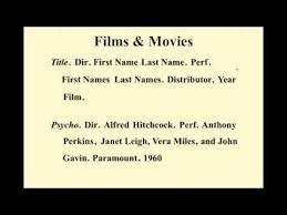 apa format movie titles apa essay citation top five mistakes of apa style ucwbling apa best