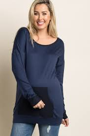 olive green colorblock maternity sweater