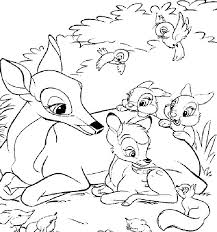 bambi ii coloring