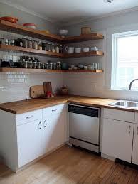 kitchen excellent kitchen open shelving corner attractive rack
