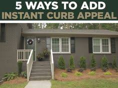 Curb Appeal Hgtv - mcm home improvement exterior paint combinations no pattern