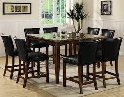 home design minimalist rustic lacquered oak wood corner dining