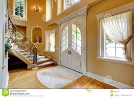 beautiful home entrances with curved stairs google search