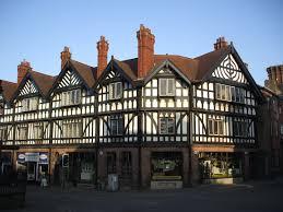 Tudor Architecture File Leek Tudor Buildings Staffs Jpg Wikimedia Commons