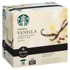 starbucks vanilla coffee k cup pods 16ct target k cups