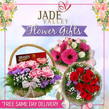 flowers same day delivery qoo10 jade valley flower gifts with free same day delivery