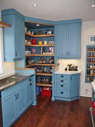 CornercabinetkitchenKitchenTransitionalwithbrushednickel - Corner cabinet for farmhouse sink