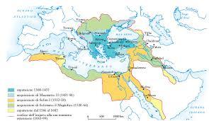 caduta impero ottomano ottomano impero in dizionario di storia