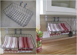 kitchen towel rack ideas 15 clever kitchen towel storage ideas