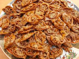moroccan chebakia recipe sesame and honey cookies