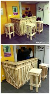 Pallet Kitchen Furniture Best Bar Pallet Ideas Furniture Of Kitchen Table