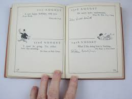happy birthday book the christopher robin birthday book written by milne a a stock