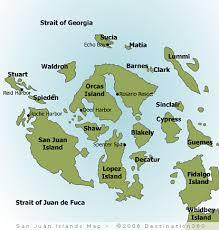 islands map san juan islands map san juans washington map