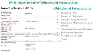 Business Letter Memorandum Example What Is Business Letter Objectives Of Business Letter
