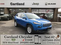 jeep cherokee back used 2018 jeep cherokee latitude plus for sale in cortland ny vin
