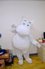 christmas moomintroll mascot by cartoonmascotcostume on etsy