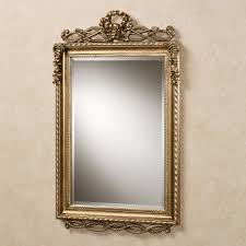 Rectangle Bathroom Mirrors Lancaster Twist Design Rectangular Wall Mirror