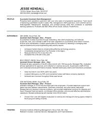 Resume Sample For Banking Operations by Attractive Assistant Bank Manager Resume Template Sample With Work