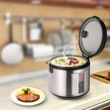 cuisiner avec un rice cooker only 36 54 homgeek 5l haut de gamme professional 20 coupe cuit 10