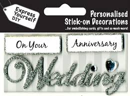 wedding captions make it personal caption topper wedding anniversary silver
