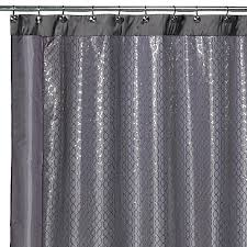 54 Shower Curtain Shower Curtain 54 X 78 Clear White Magnetic Weight Shower Curtain