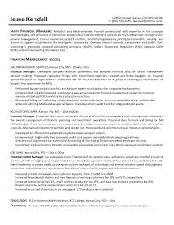 Sample Resumes For Management by Financial Services Representative Resume International Financial