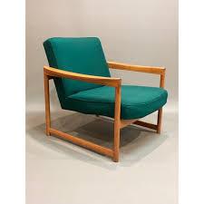 1950s Armchair Dark Green Scandinavian Armchair 1950s Design Market