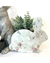 easter bunny decorations get this amazing shopping deal on wood easter bunny easter bunny