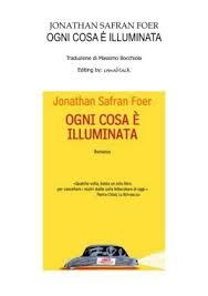jonathan safran foer ogni cosa 礙 illuminata pages 1 50 text
