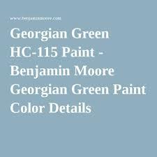 georgian green hc 115 paint benjamin moore georgian green paint