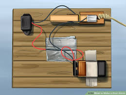 how to make a door alarm with pictures wikihow