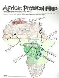 world rivers map worksheet