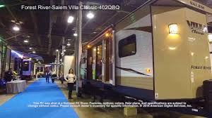 Salem Rv Floor Plans by Forest River Salem Villa Classic 402qbq Youtube