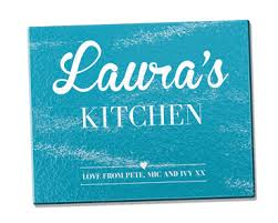 personalised cutting boards mini box home décor products personalised bamboo and glass
