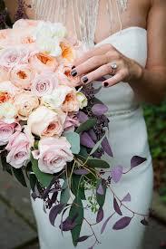 Cascading Bouquet Wedding Flower Ideas For Outdoor Weddings