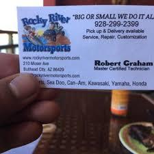It Technician Business Card Rocky River Motorsports Boat Repair 210 Moser Ave Bullhead