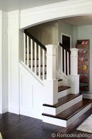 love how open this staircase foyer is home sweet home