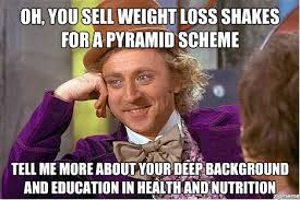 Beach Body Meme - beachbody coaching weight loss shake pyramid scheme what to