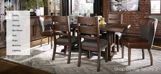 ashley dining table with bench ashley dining table and chairs