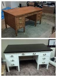 Homemade Wooden Computer Desk by Best 25 Desk Makeover Ideas On Pinterest Desk Redo Repurposed