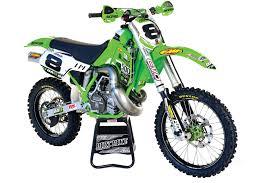 custom motocross bikes dirt bike magazine destry abbott u0027s kx500 giveaway drawing