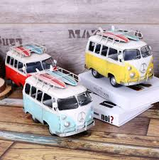 shabby chic vintage home decor 2018 shabby chic bus zakka vintage home decor metal crafts car
