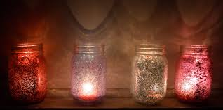 jar candle ideas don t to be rich to own diy glitter jar candles from