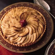 thanksgiving apple desserts food wine