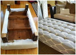 How To Make An Ottoman From A Coffee Table How To Turn A Coffee Table Into An Ottoman Gonna Do It Myself